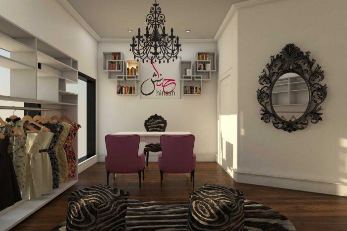 hinash brand outlet interior design