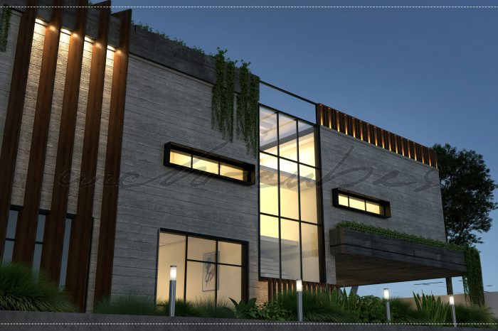 mr bari house front elevation and interior design services by archi cubes